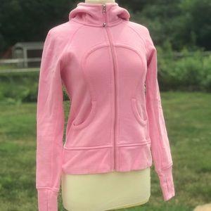 Pink Lululemon Zip Up Hoodie Sweater Jacket